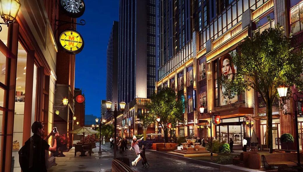 商业街照明的作用.jpg